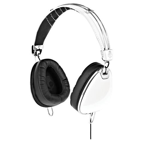 Skullcandy Aviator White Headphones