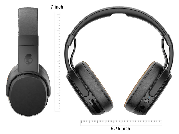 Skullcandy Crusher Black sizes