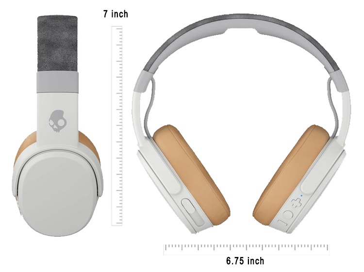 Skullcandy Crusher White Sizes