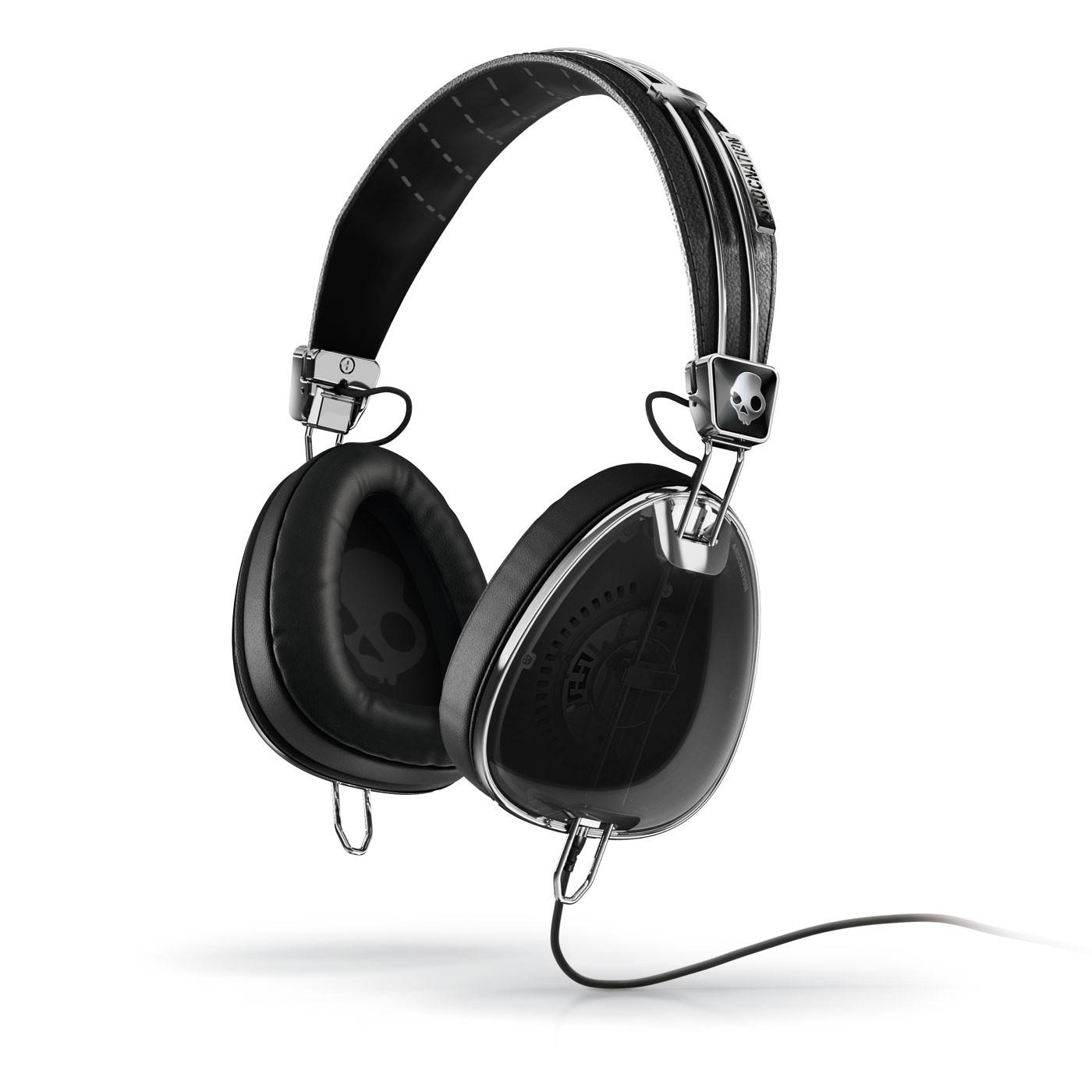 SkullcandyAviator Black Headphones